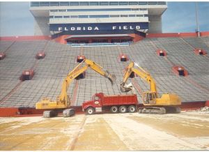 UF Football Florida Field Turf Reconstruction