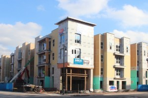 The Nine apartment community construction project
