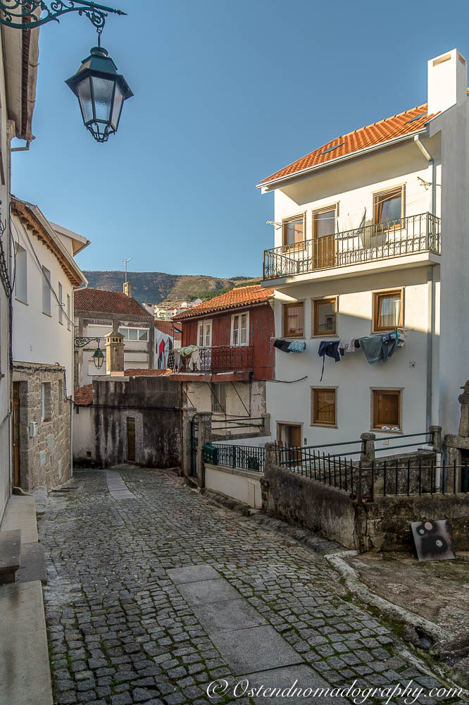 The Narrow Streets of Covilhã