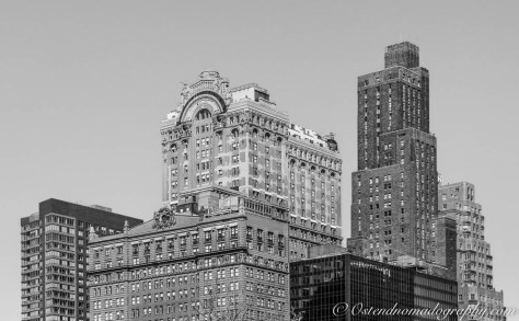 Black & White Buildings Manhattan