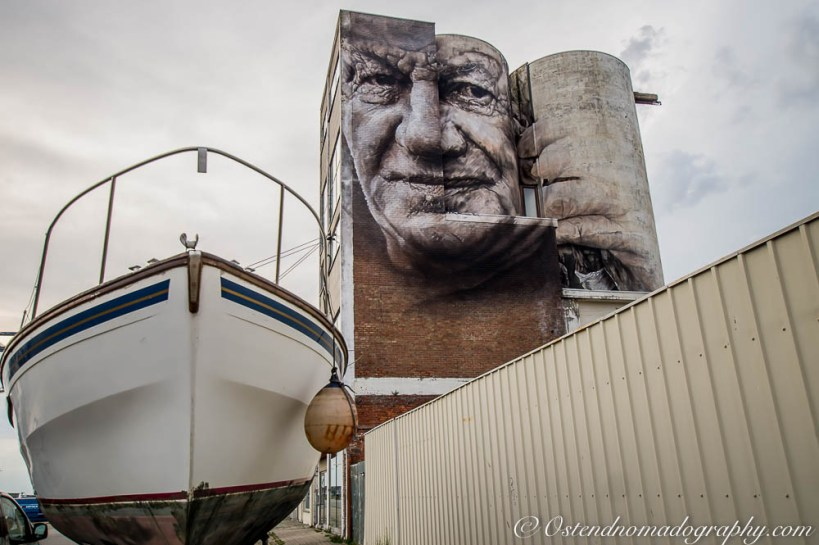 Guido Van Helten @ The Crystal Ship Edition 2016