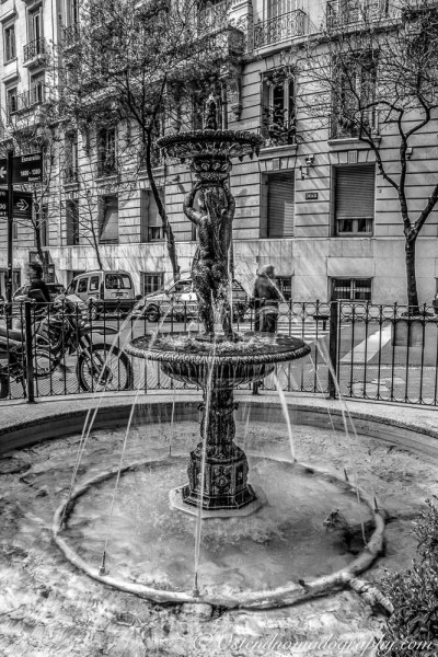 A fountain in Buenos Aires