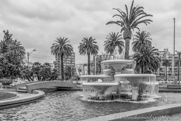 A fountain in Vina del Mar (Chile)