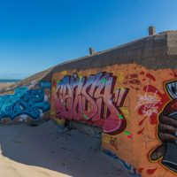Painted Bunkers in Calais