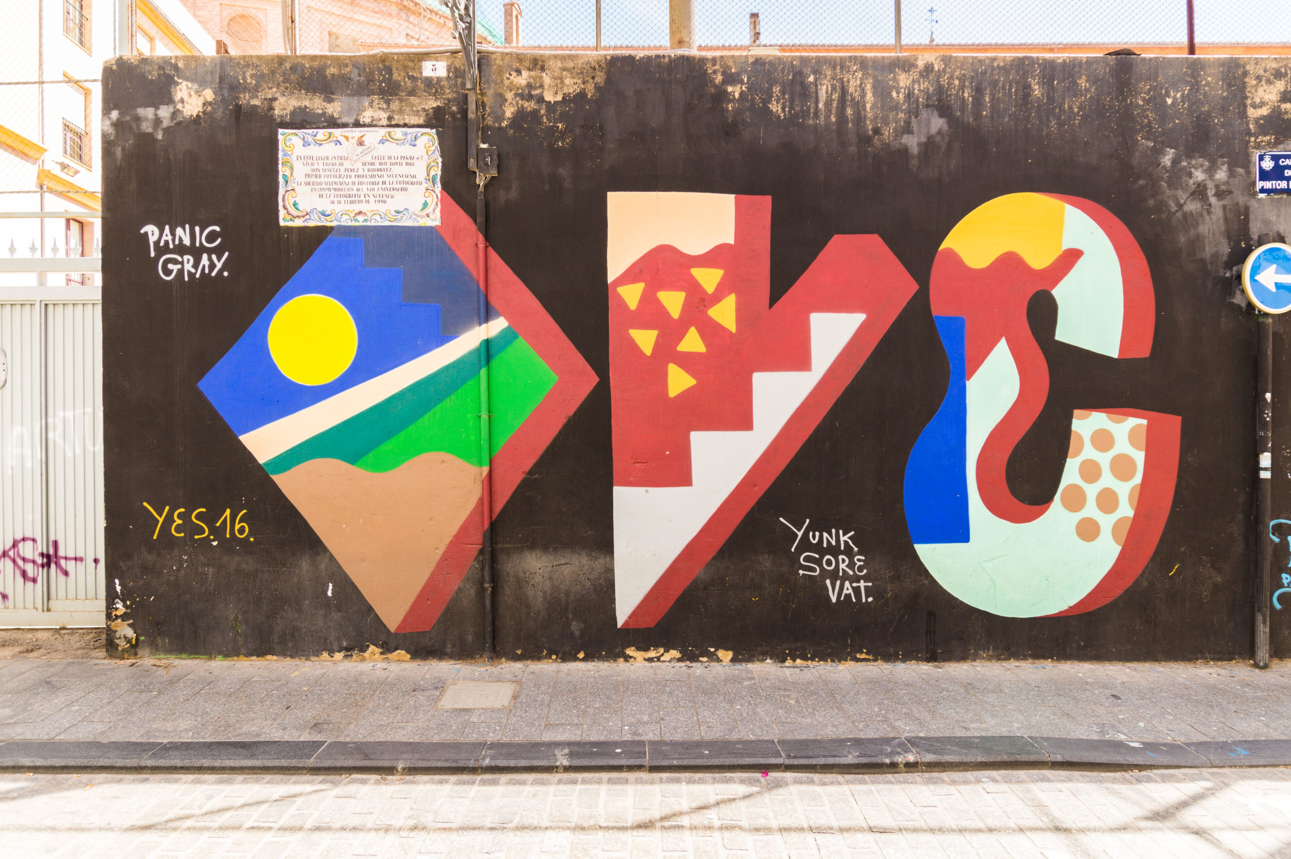 Street Art in Valencia: 2x OVEISM