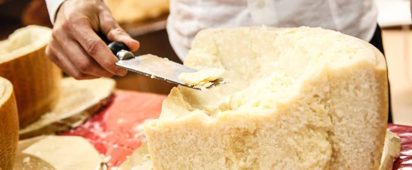 Menù Parmigiano dell'Antica Osteria della Ghiaia di Parma