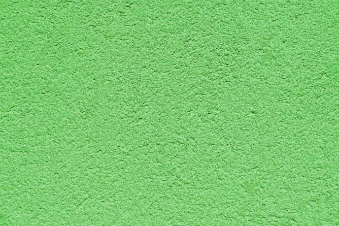 green plastering