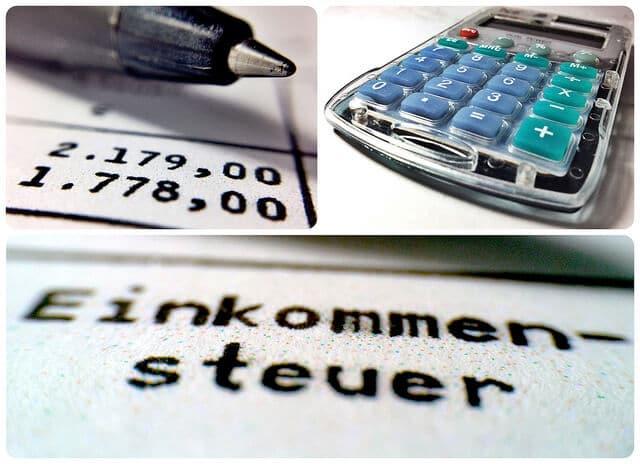 Berechnung der Einkommensteuer