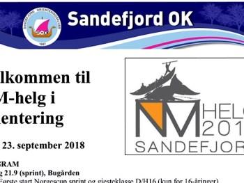 Permalink to: O-Idol, NC og NM-Jr helg i Sandefjord