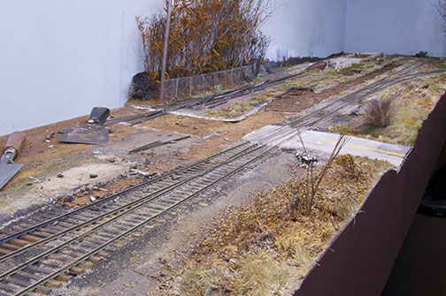 Removal of the Mill Track