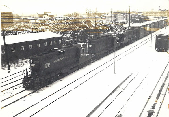 Penn Central trio of Geeps in the late 1960s.