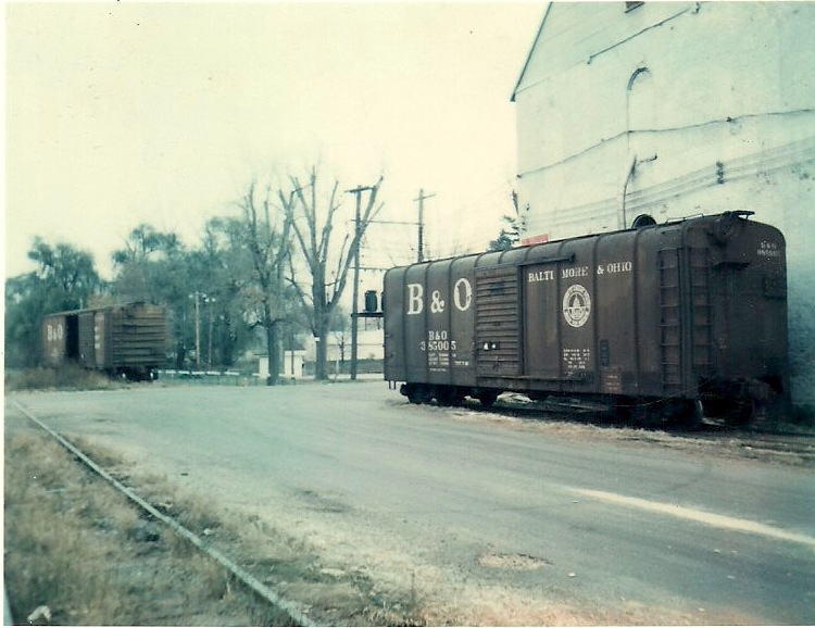 Boxcar still life in the 1970s