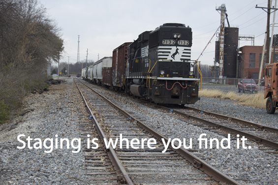 Staging is where you find it
