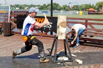 Jacek Groenwald - konkurencja Standing Block chop