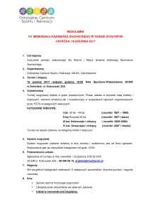 REGULAMIN VII MEMORIAŁU K. SOCHACKIEGO-1