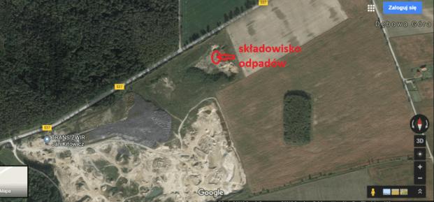 żwirownia Mielno - czerwiec 2018 a