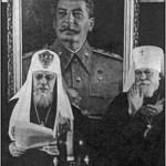 Иерархи у Сталина в 1943 г.