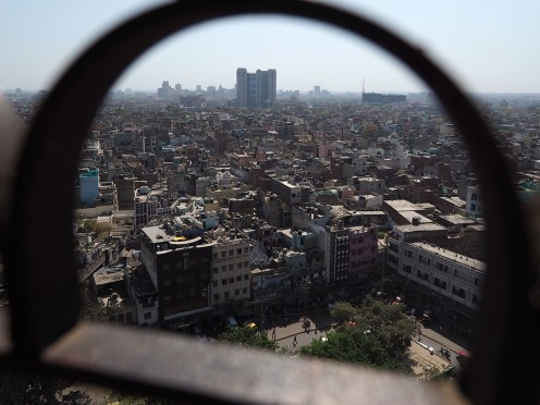 from the minaret of Jama Masjid