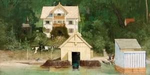 Gabriel von Max, Das Wohnhaus des Künstlers, nach 1875