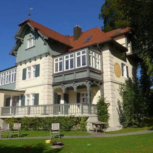 Villa Bonsels in Ambach nach der Renovierung