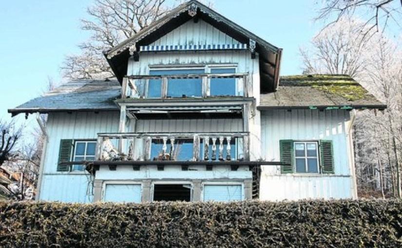 """Villa Max """"Das traurigste Kapitel der Villengeschichte"""""""