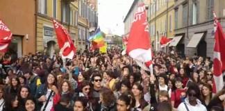 Manifestazione scuola
