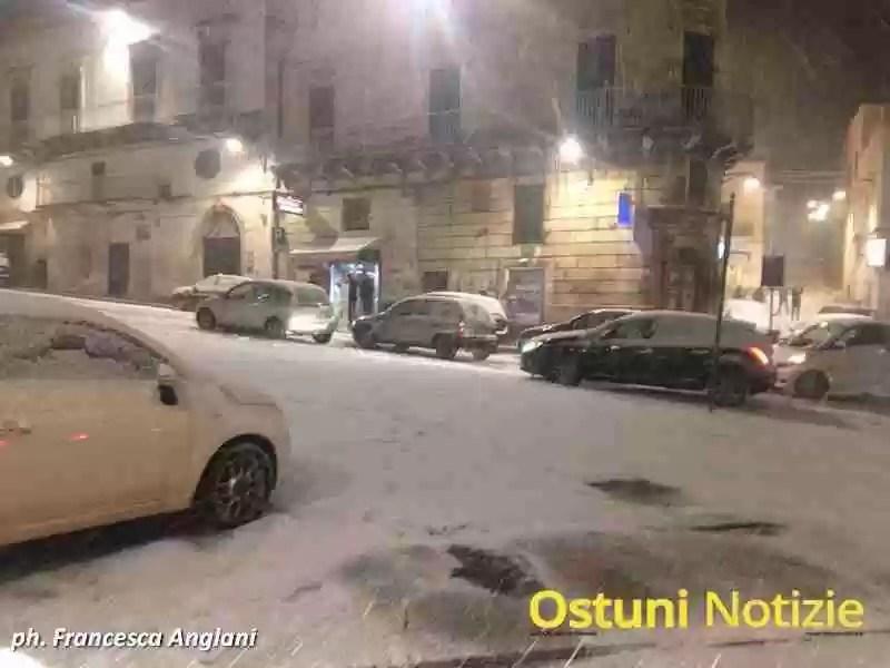 Emergenza Neve Ostuni 2