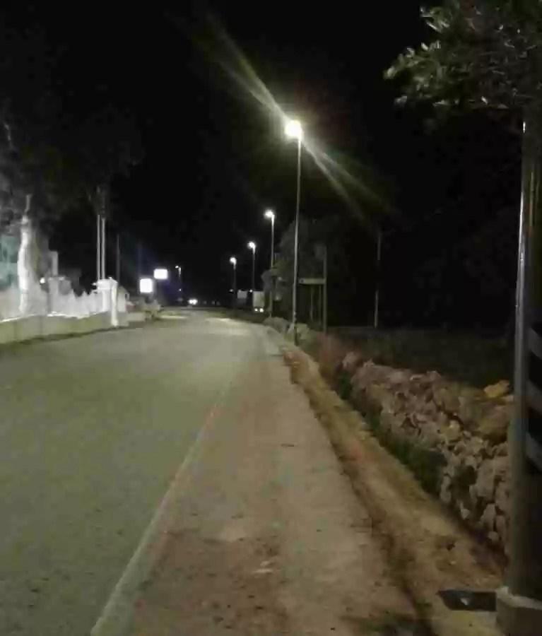 Illuminzione via per la stazione2