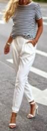 zomerklassieker de witte broek