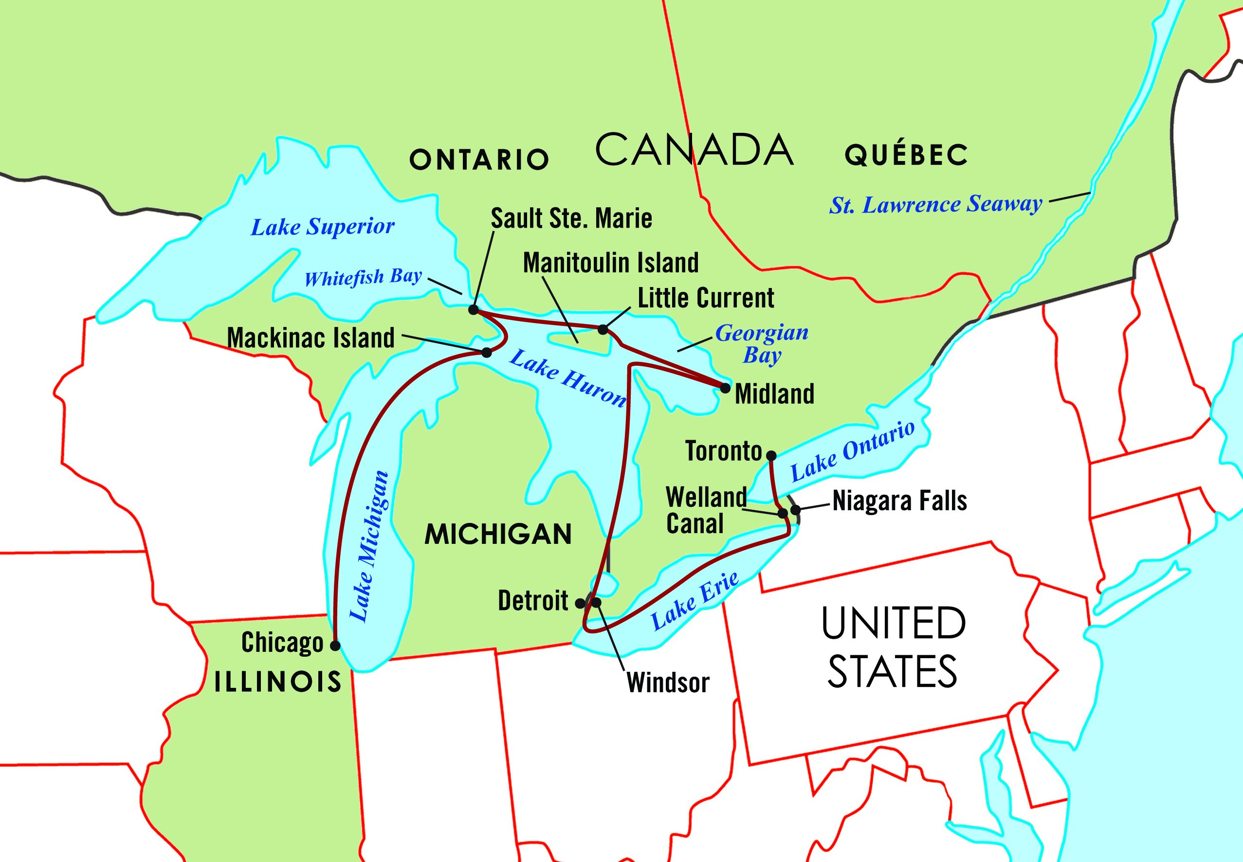 The Majestic Great Lakes