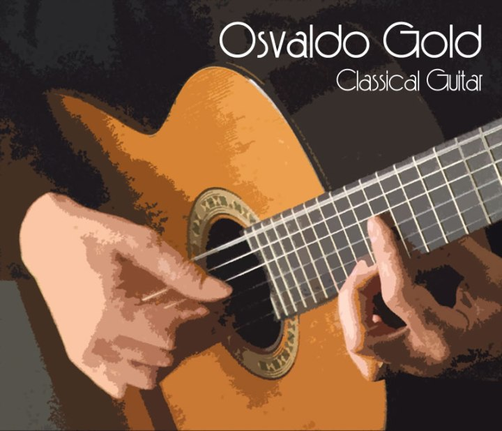 Osvaldo Gold Classical Music CD cover