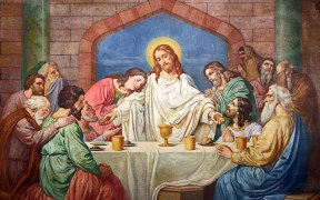 PAINTING OF LAST SUPPER DISPLAYED AT NEW YORK CHURCH