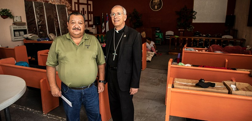 El Paso Diocese uses new fund to help migrants near border