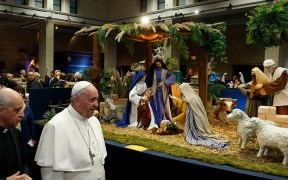 POPE NATIVITY SCENES