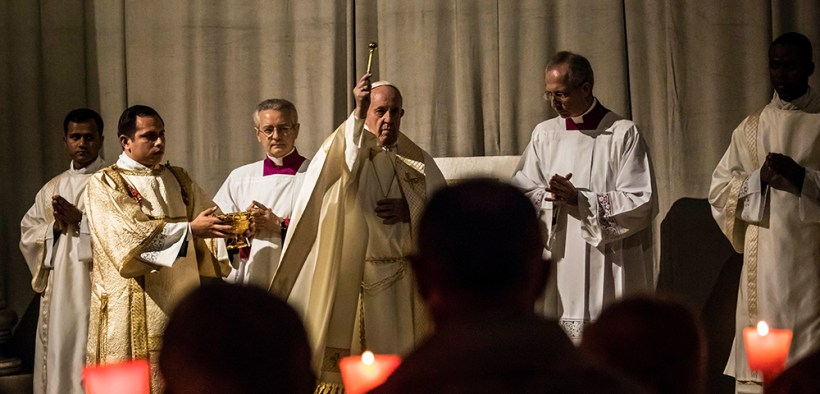 POPE MASS CONSECRATED LIFE