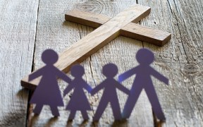 cross and family