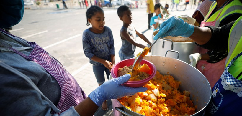SOUTH AFRICA CHILDREN FOOD COVID-19