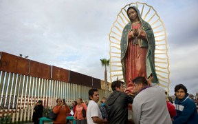 FILE PHOTO GUADALUPE U.S. MEXICO BORDER MASS