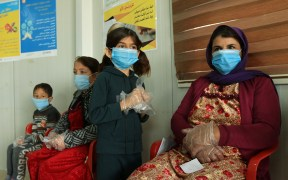 IRAQ DISPLACED CAMP CORONAVIRUS