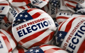 2020 Presidential Election Buttons