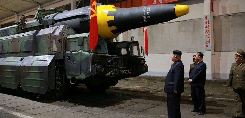 FILE NORTH KOREA BALLISTIC ROCKET