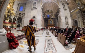 VATICAN NEW YEAR'S EVE