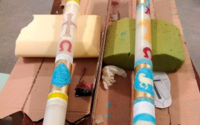 PRISONERS PASCHAL CANDLES