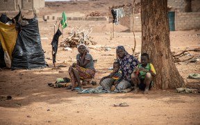 DISPLACED FAMILY BURKINA FASO