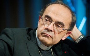 FRENCH CARDINAL PHILIPPE BARBARIN