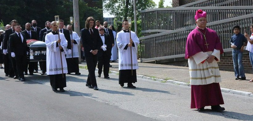FATHER RYAN PROCESSION MEMORIAL MASS