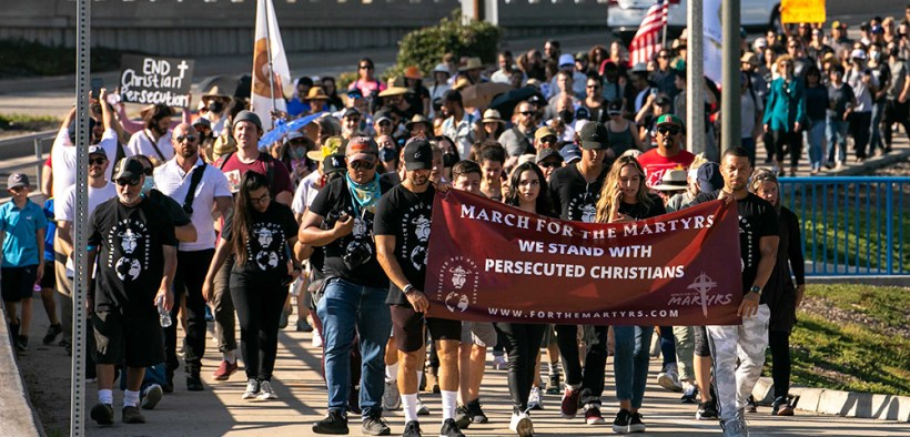 March for the Martyrs