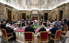 POPE MEETING EDUCATION PACT