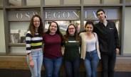 Oswegonian staff seniors say farewell