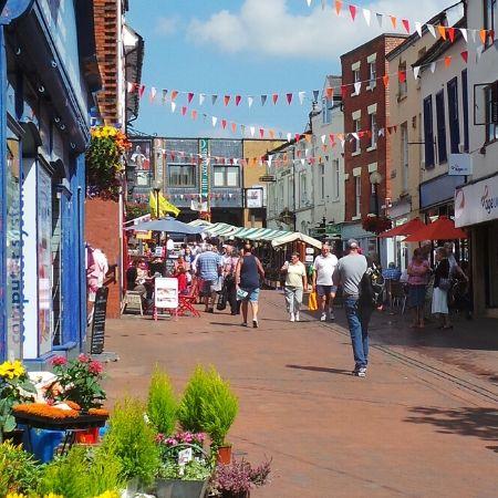 Oswestry Market, Bailey Street